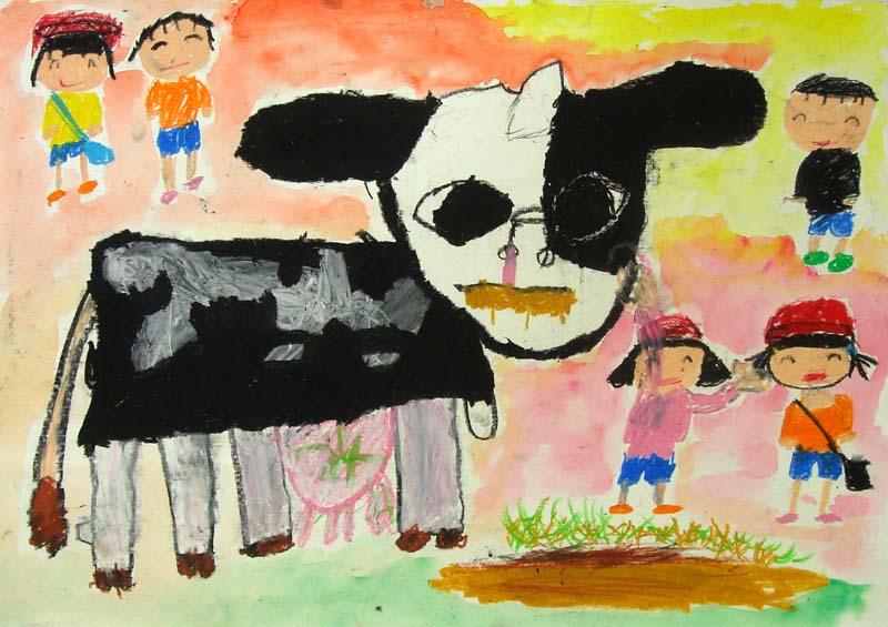 牛の絵コンクール応募作品